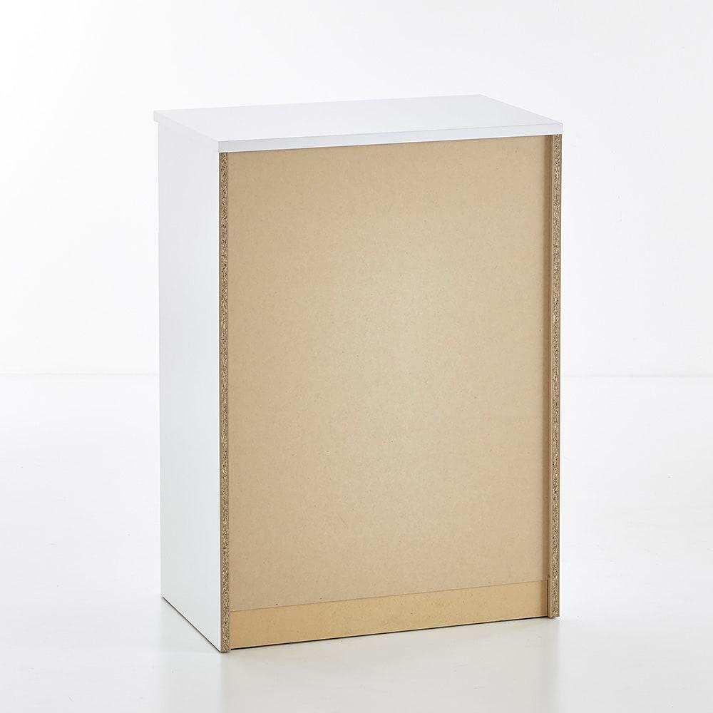 Muro/ムーロ ホワイトモダンチェスト 幅70cm 4段