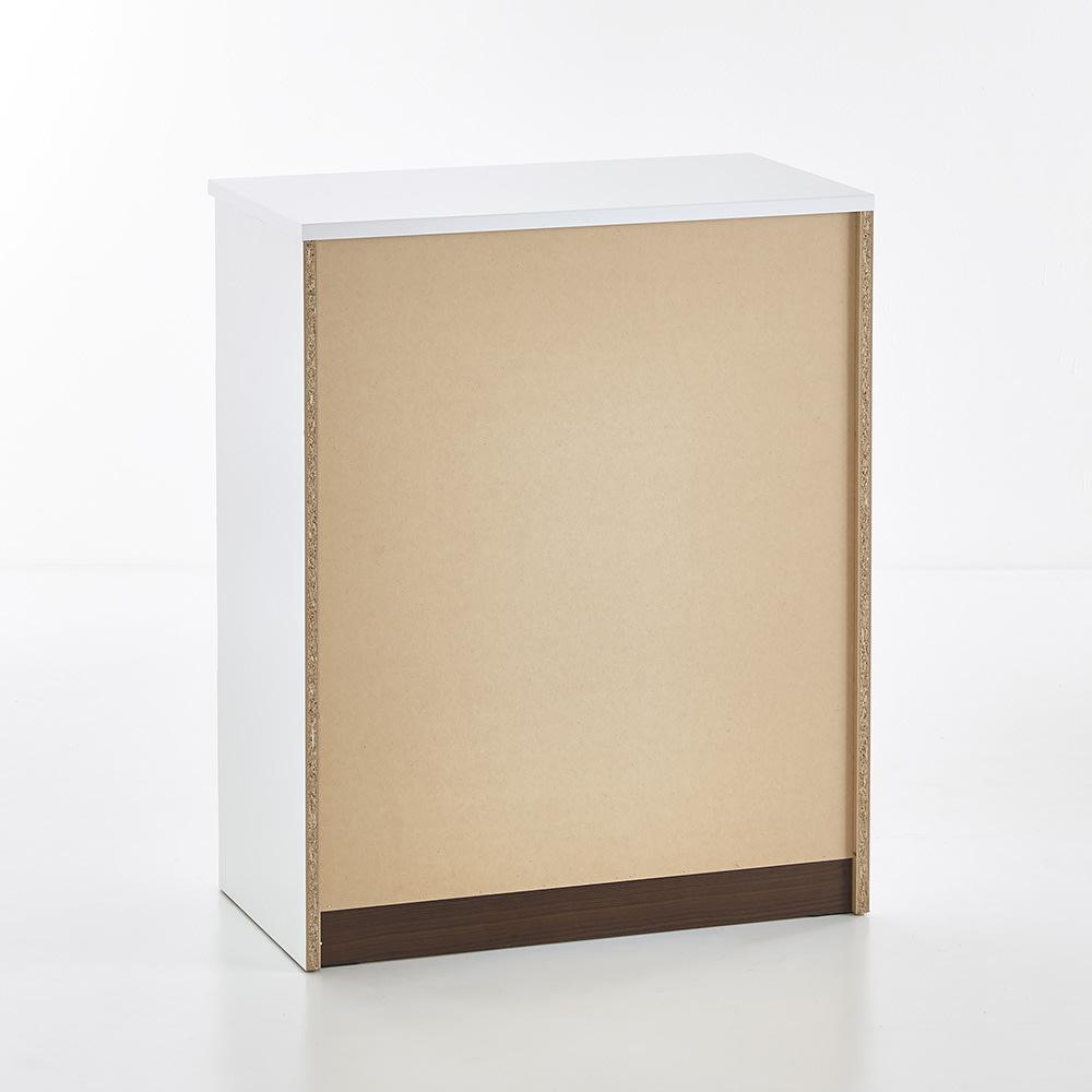 Muro/ムーロ ホワイトモダンチェスト 幅80cm 4段