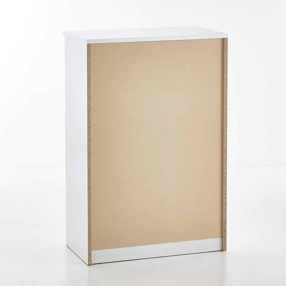 Muro/ムーロ ホワイトモダンチェスト 幅80cm 5段