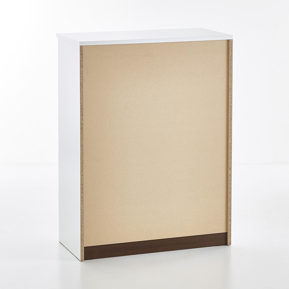 Muro/ムーロ ホワイトモダンチェスト 幅90cm 5段