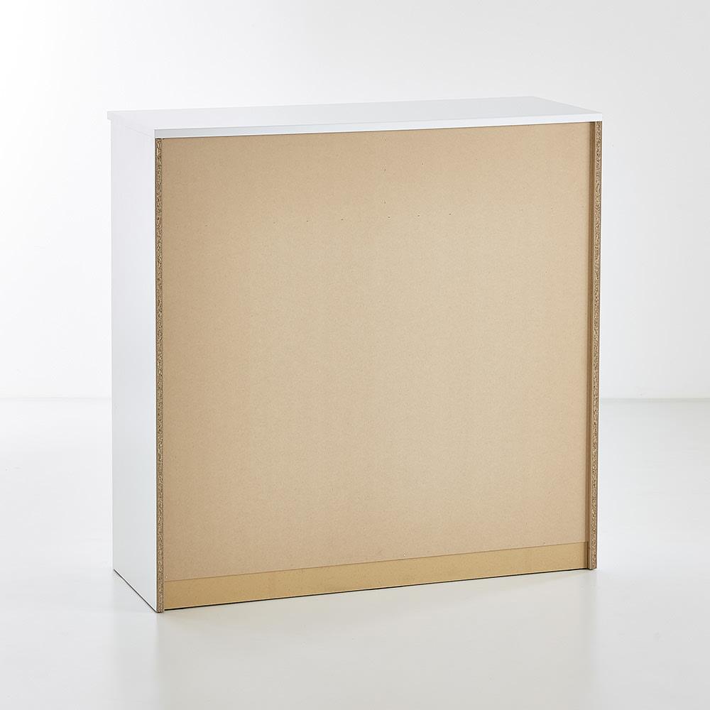 Muro/ムーロ ホワイトモダンチェスト 幅120cm 5段
