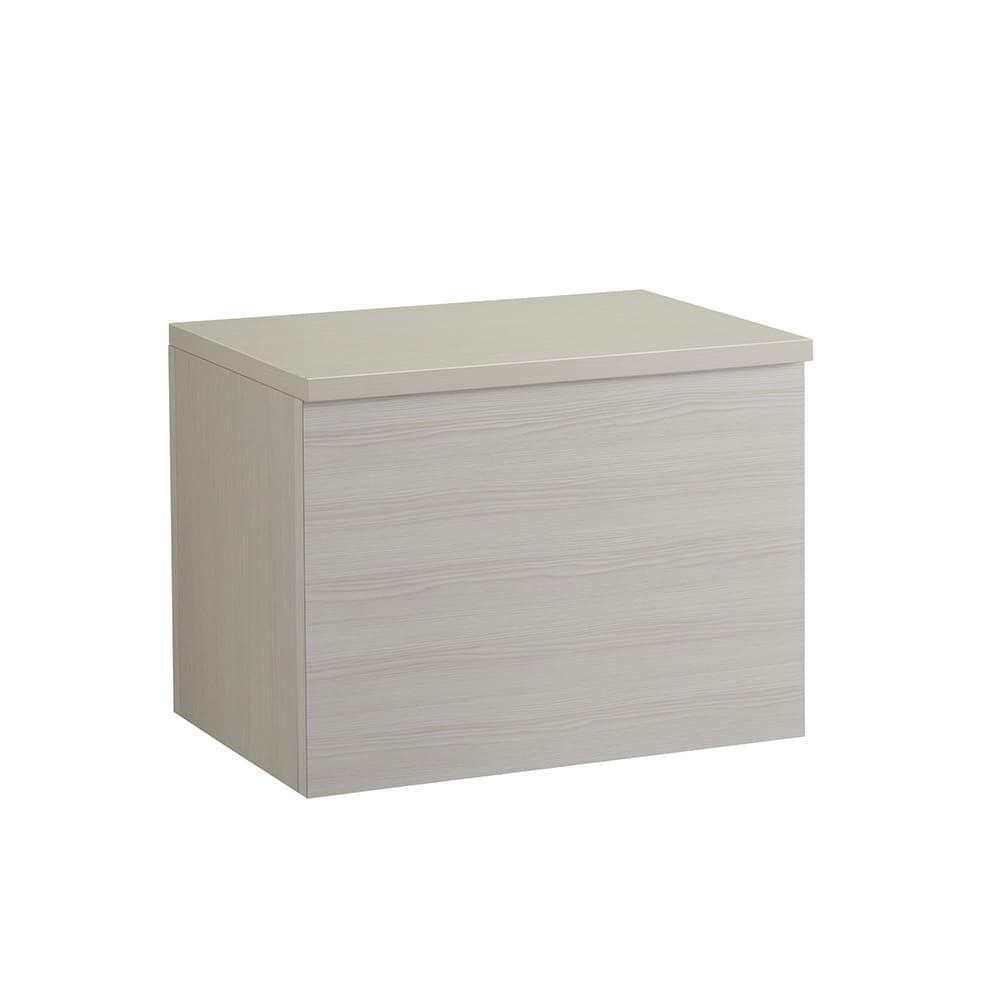 Kleid/クライト クローゼット 収納BOX 蓋 幅60cm (ア)ホワイト