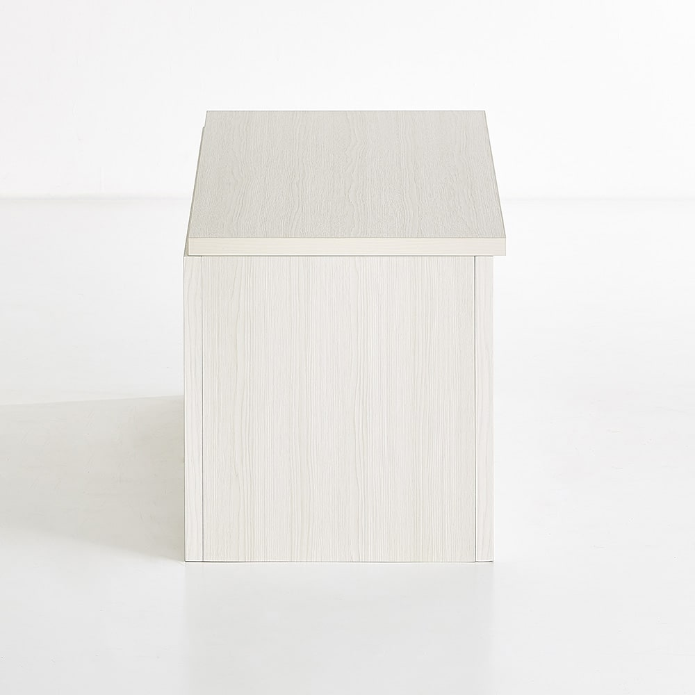 Kleid/クライト クローゼット 収納BOX 蓋 幅60cm (ア)ホワイト ※写真は幅90cmタイプです。