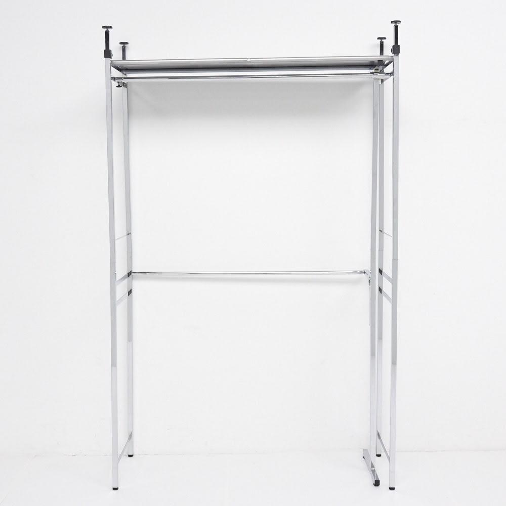 Varie(バリエ) クローゼットハンガーラック 幅150cm~250cm対応 最小幅(幅150cm)