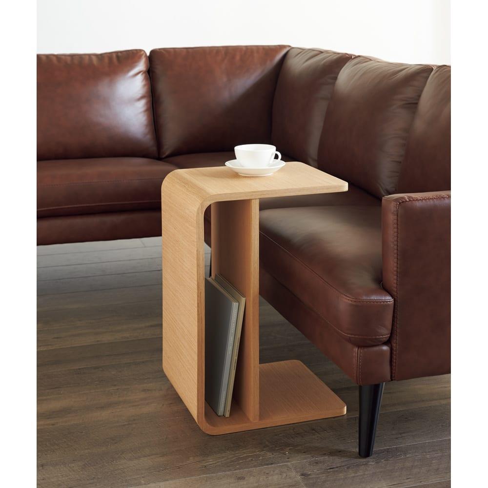2way 棚付きリビングテーブル [縦横自在] ブラック 【通販】