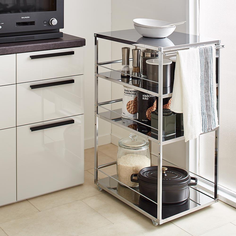 Prop/プロープ キッチン横 ステンレススリム作業台 幅30cm H67712