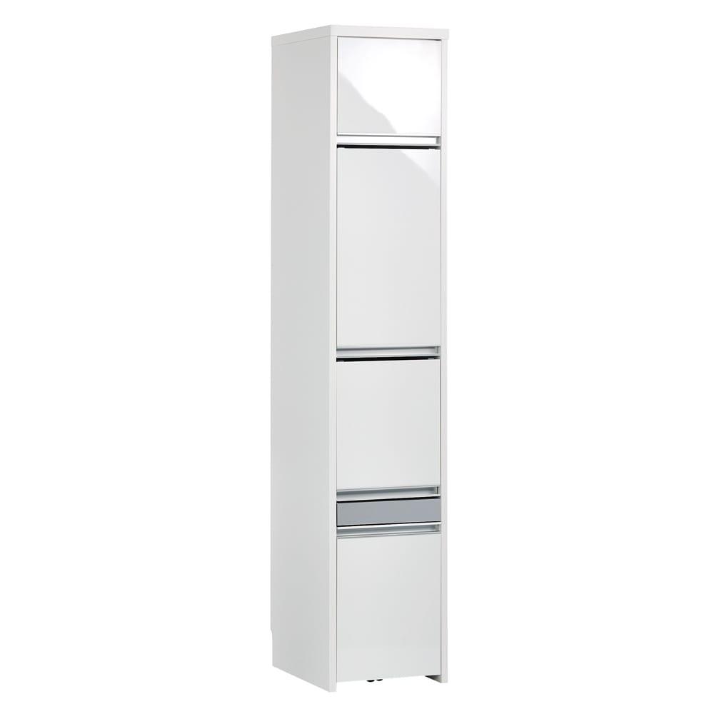 Ymir/ユミル 隠せる家電収納 幅40奥行45cm (ア)ホワイト