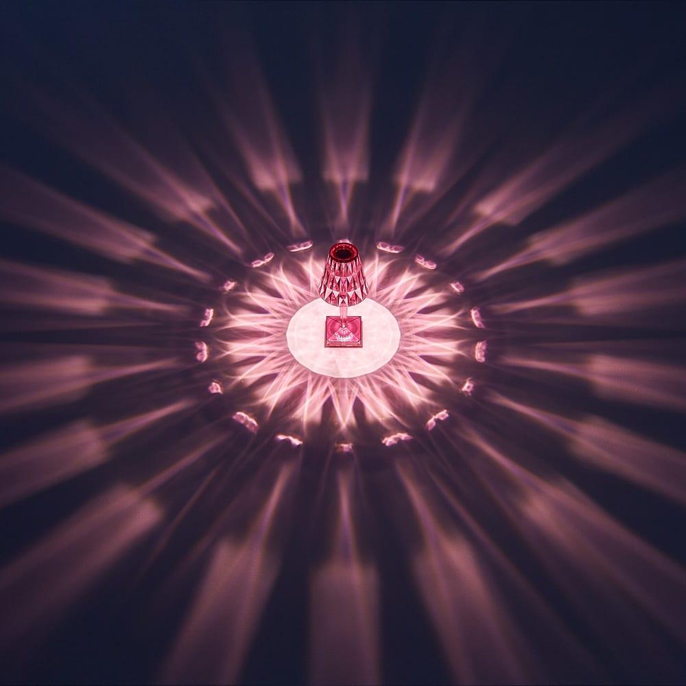 Battery/バッテリー 充電式テーブルランプ・テーブルライト [Kartell・カルテル/デザイン:フェルーチェ・ラヴィアーニ] プラム