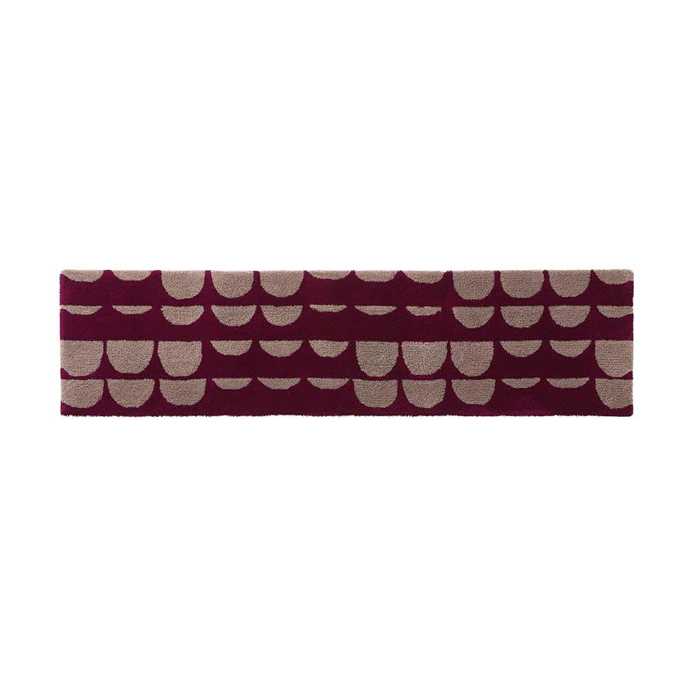 カーテン 敷物 ソファカバー カーペット ラグ マット キッチンマット 約50×180cm(PAJATSO/パヤッツオ フック織マット) H73017