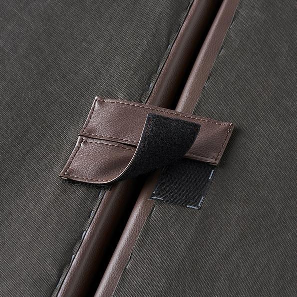 Divanol/ディバノール フロアソファ 4人掛け ソファ底面は、面テープで連結する事ができます。
