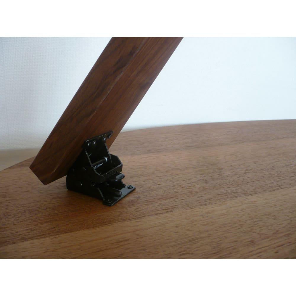 折れ脚コミュニケーションローテーブル 幅100cm