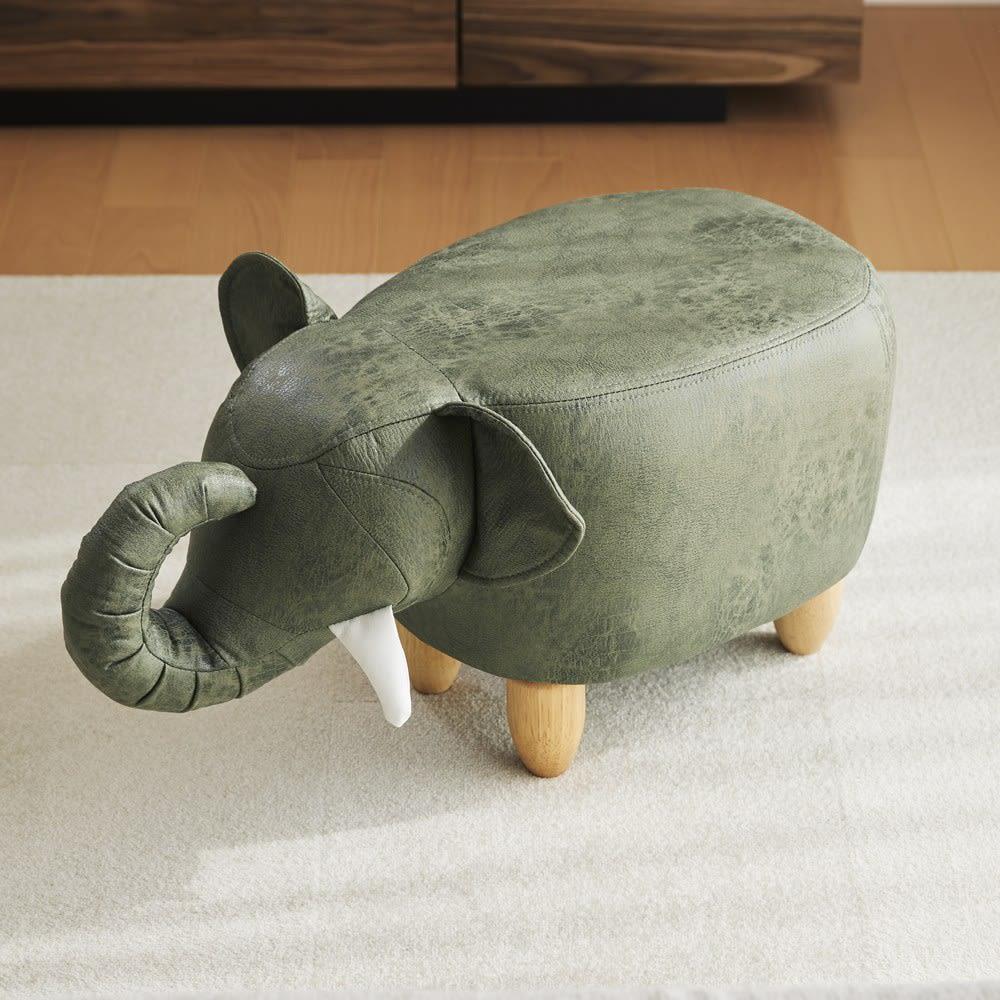 ゾウのスツール