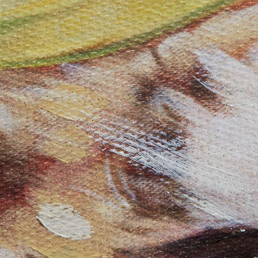 キャット&ドッグ ペインティングフレーム 油彩ならではの迫力ある立体的なタッチ。