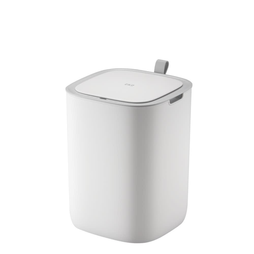 EKO/イーケーオー モランディ センサーゴミ箱 12L (ア)ホワイト