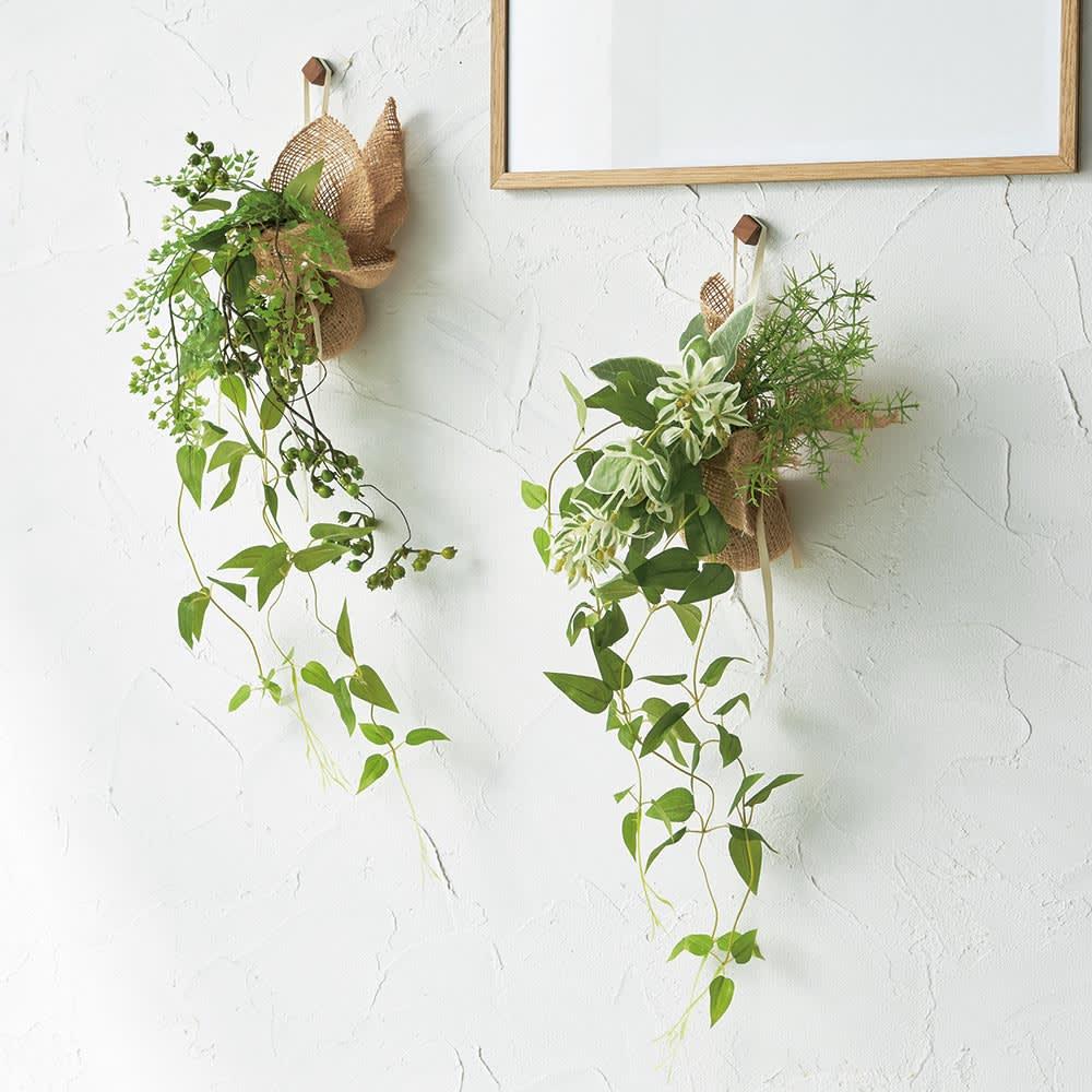 ピンで飾れる エコストーン入り 消臭グリーン 単品 軽い素材なので、お手持ちのピンや画鋲で吊るせます。