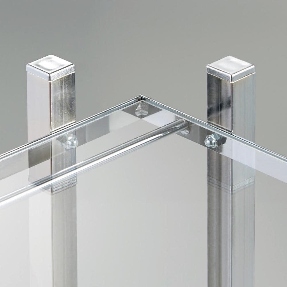 アクリル棚シューズラックシリーズ シューズラック ハイ 幅71cm 圧迫感を軽減し、おしゃれな玄関インテリアを引き立てる収納棚
