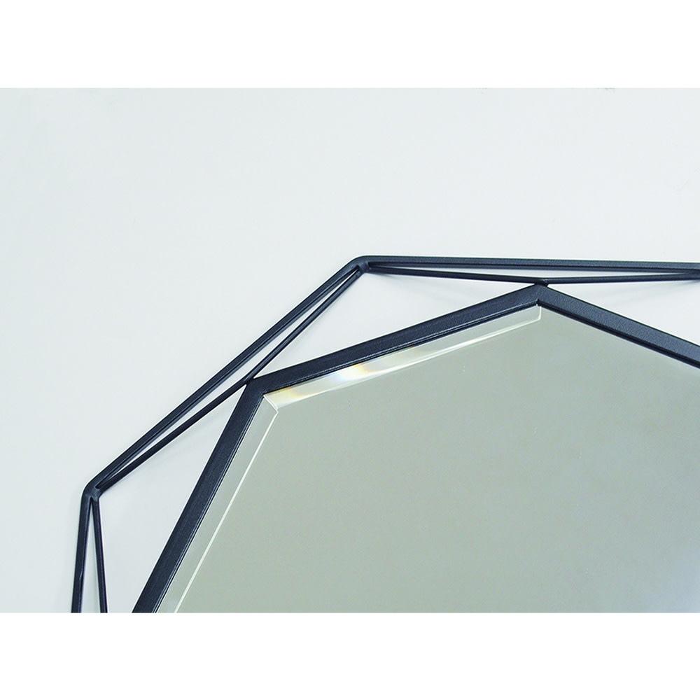 アイアンウォールミラーシリーズ 壁掛けミラー M幅50cm高さ79cm