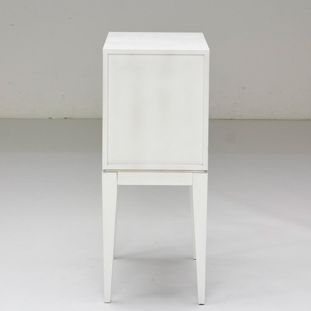 PHILOS/フィロス スリムレッグシリーズ サイドチェスト・ナイトテーブル 幅35cm高さ86.5cm ホワイトウォッシュ 背面