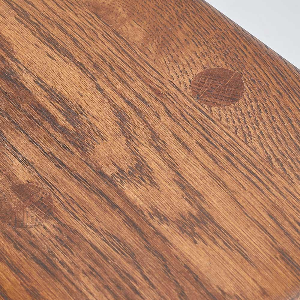 天然木スリムベンチ&スツール 天然の木目の美しさが魅力のオーク材を使用しました。