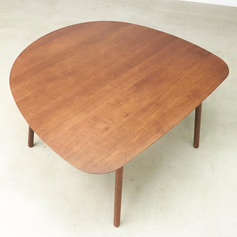 cobrina/コブリナ オーク天然木 ダイニングテーブル 幅133cm 奥行120cm