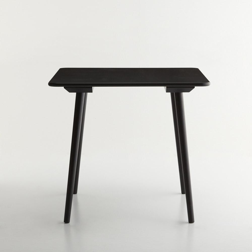 ウィンザーダイニングテーブル 正方形ダイニングテーブル幅80cm×80cm[チェコ・TON社] 正面