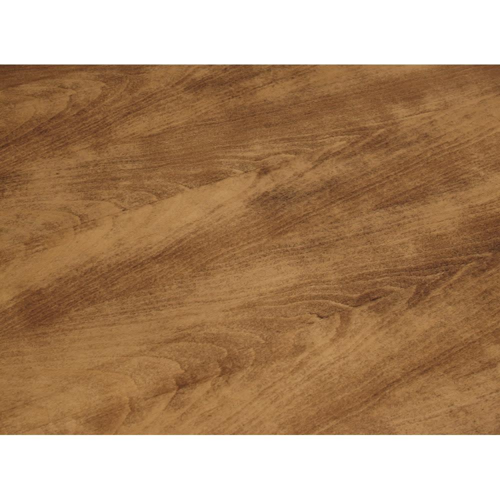 アンティーク風テーパーダイニングテーブル 正方形テーブル幅80cm×80cm[チェコTON社製] 木目と色の濃淡が深い味わいを生み出しています。 (実際の色はこの写真より濃いめです)