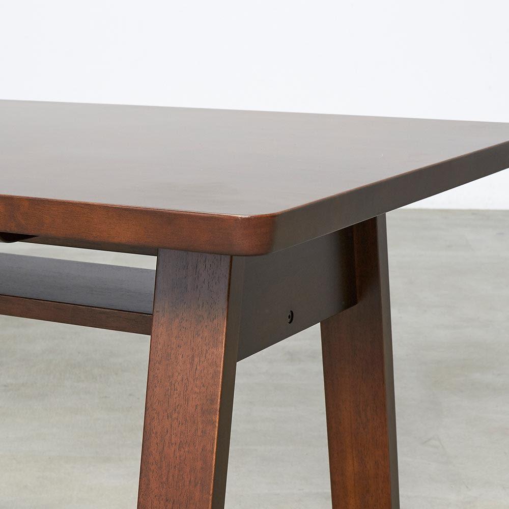 BIS/ビス リビングダイニングテーブル 幅140cm テーブル角部分アップ
