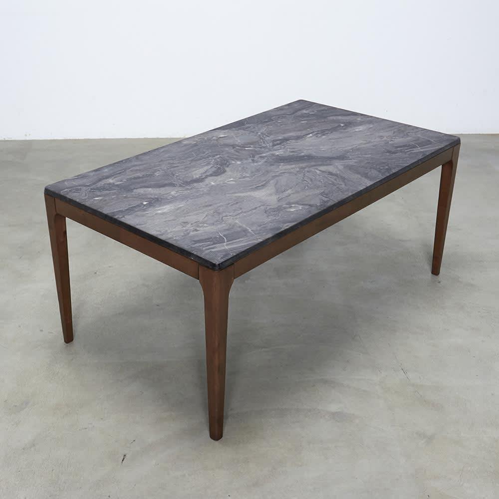 Elusso/エルーソ 石目調ダイニングテーブル 幅160cm