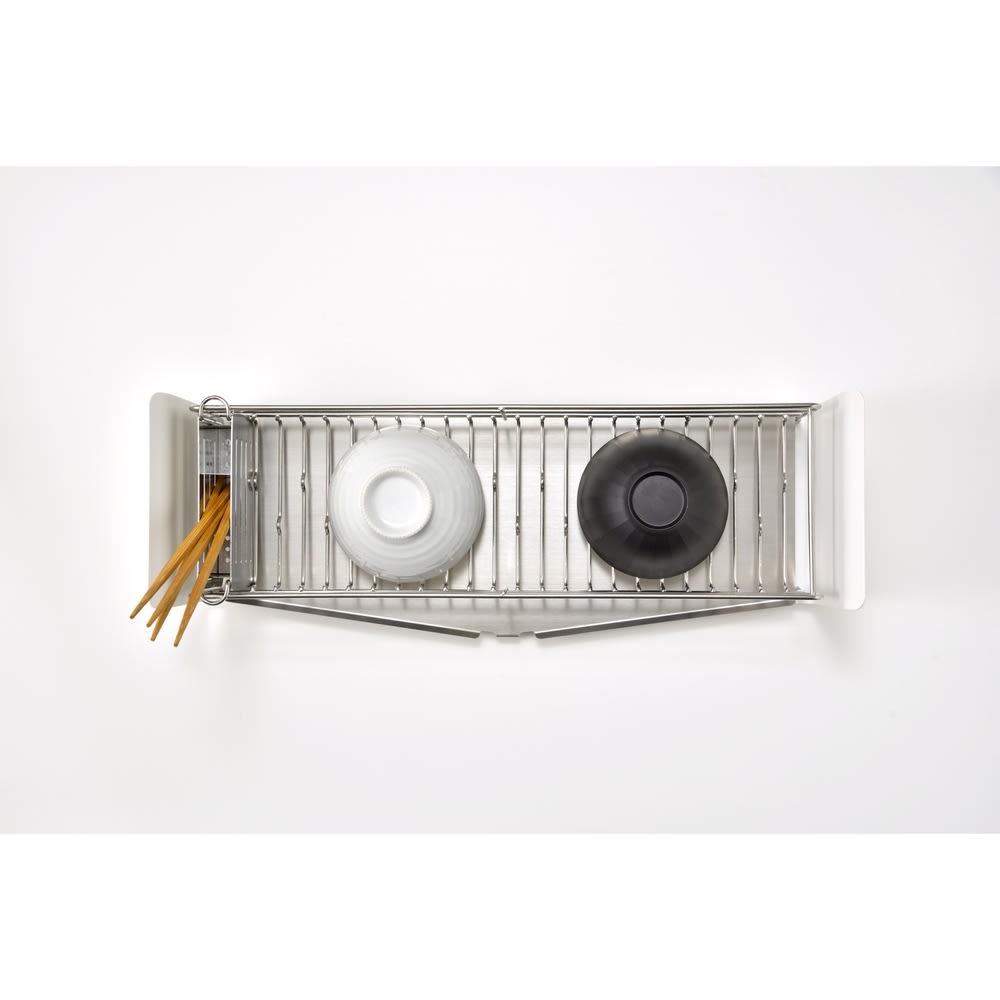 UTAU/ウタウ 皿が縦にも横にも置ける水切り ショート