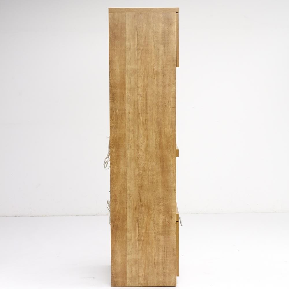 Cretty/クレッティ ステンレススライドテーブル ナチュラルモダンキッチン収納 レンジ台ハイ