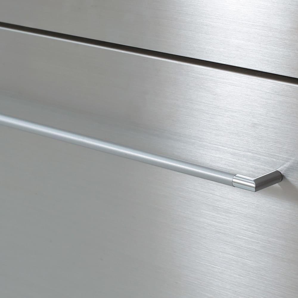 AQUA/アクア ダストダイニングボード・キッチンボード 幅107cm コーディネート例 (ア)ホワイト