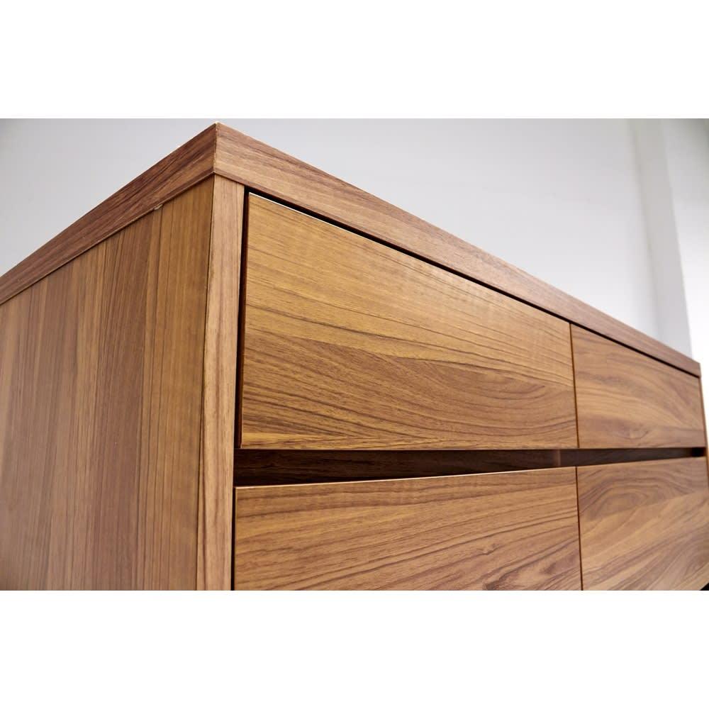 Granite/グラニト アイランド間仕切りキッチンカウンター幅120cm 引き出しタイプ 角まで丁寧に仕上げた国産・日本製家具です。