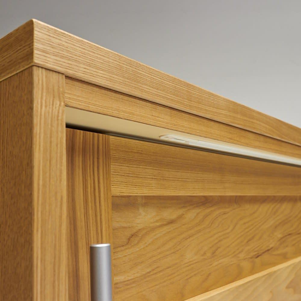 NexII ネックス2 天然木キッチン収納 カウンター 幅120cm カドの仕上げまで美しく仕上げた、日本製の食器棚です。
