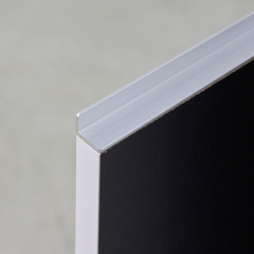 Rossi/ロッシ カウンター下収納庫 収納庫幅89.5奥行20cm 取っ手は高級感のあるアルミ製