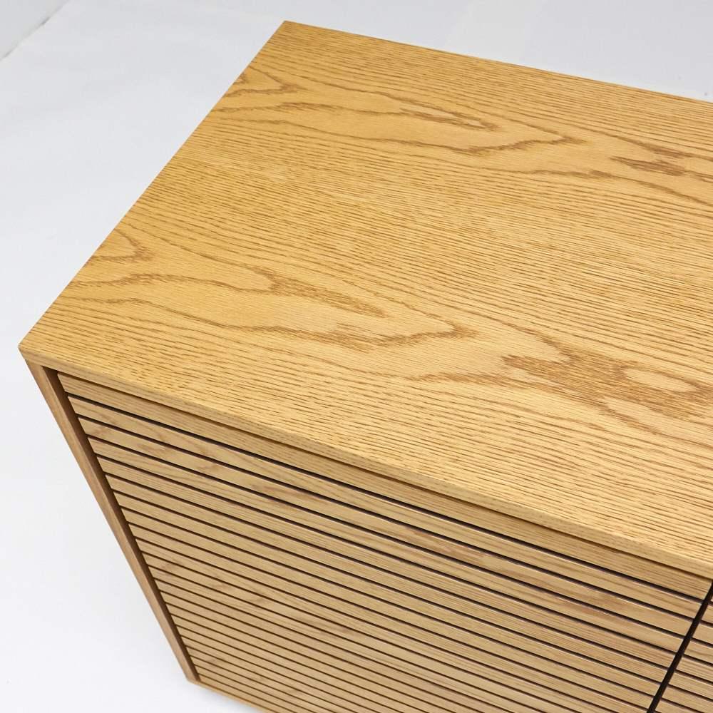 格子リビングシリーズ チェスト&ドア 幅150cm