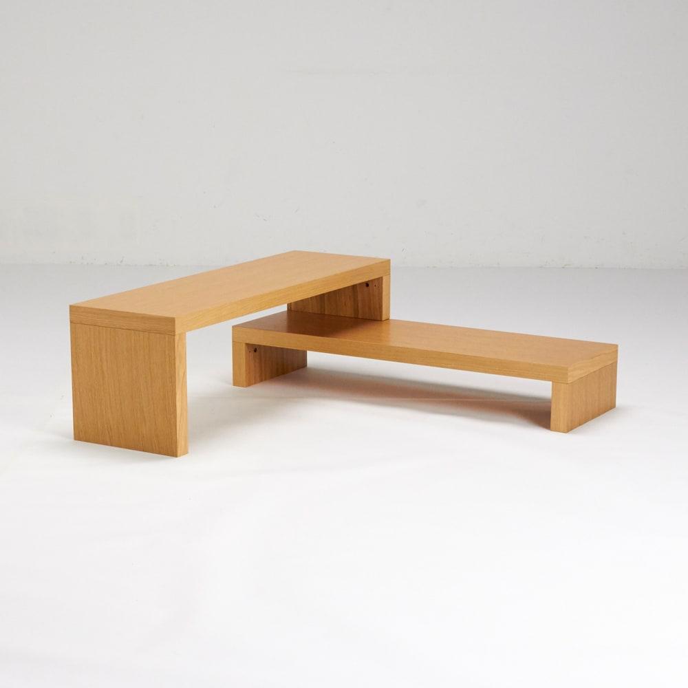 Cliff クリフ 伸縮式テレビ台テーブル 幅120cm[temahome テマホーム]