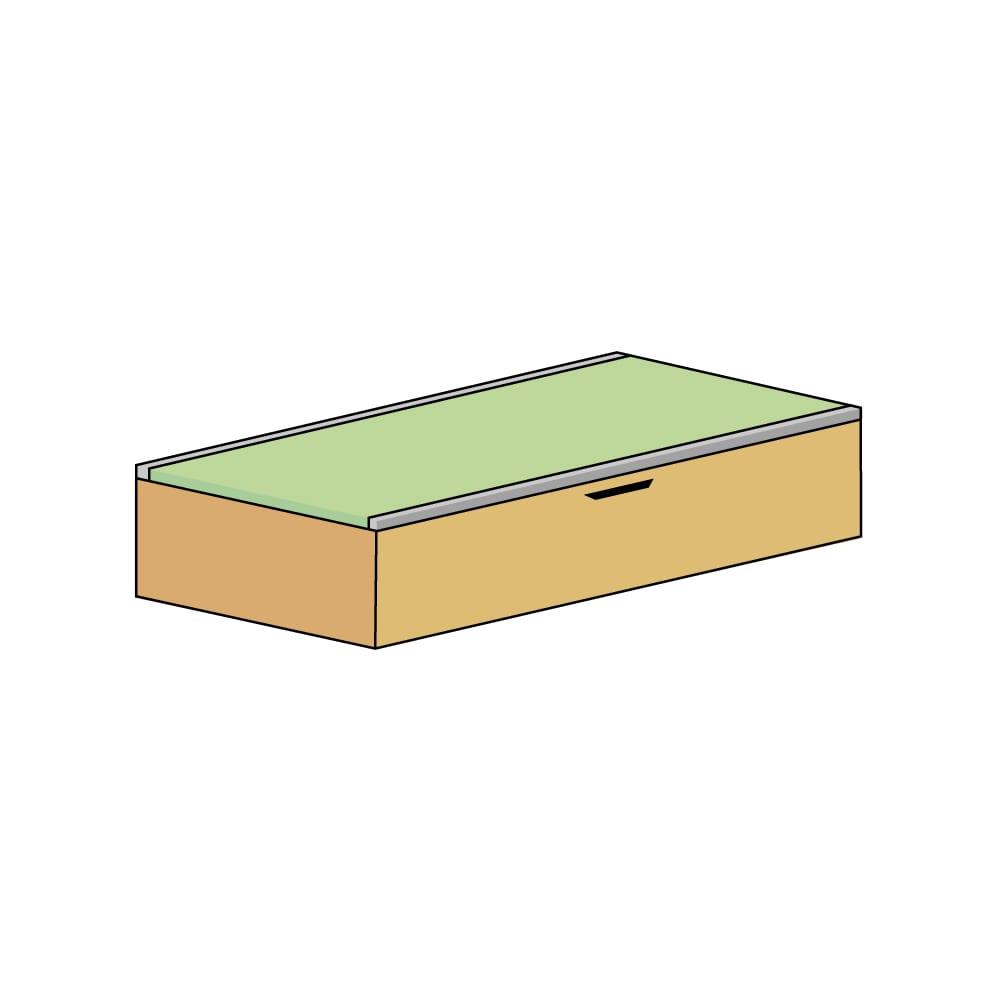 美草跳ね上げ式ユニット畳 畳単品 高さ33cm 1畳 H79015
