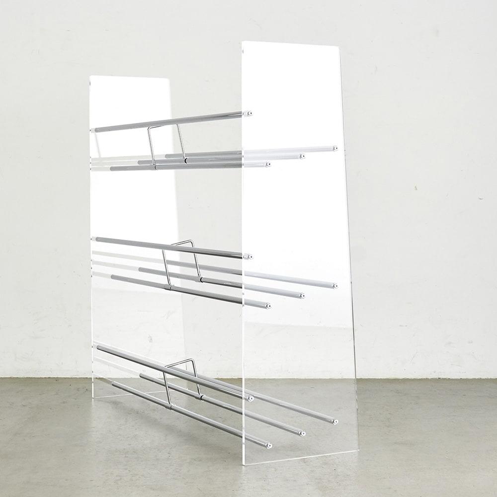 Lumiere/ルミエル  クリアブックシェルフ 幅102cm