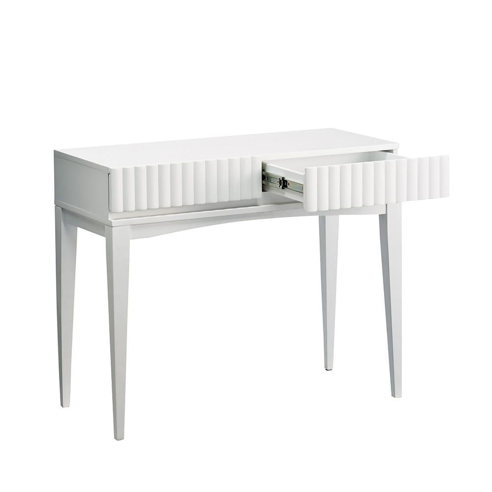 PHILOS/フィロス エレガントシリーズ コンソールテーブル デスク ホワイト