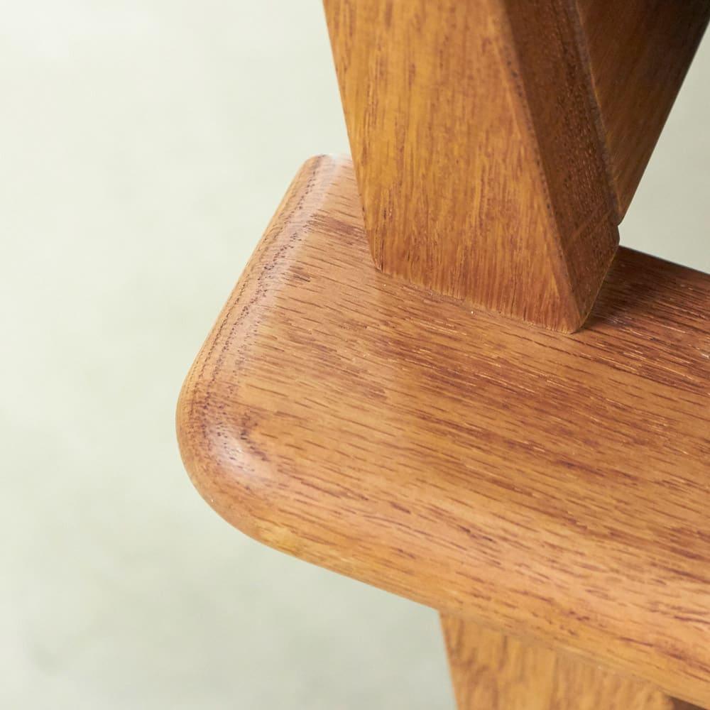 a tempo/アテンポ オーク天然木 木製フレームソファ 3人掛け・幅198cm