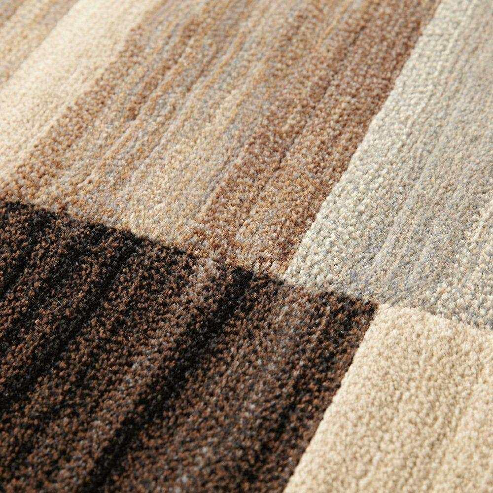 ベルギー製 Alferat/アルフェラッツ 高密度ウィルトン織ラグ 高密度だからこそ表現できる繊細なグラデーション。