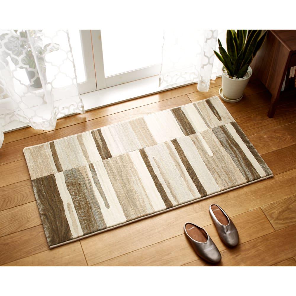 約67×120cm(アルフェラッツ ウィルトン織マット) H80208