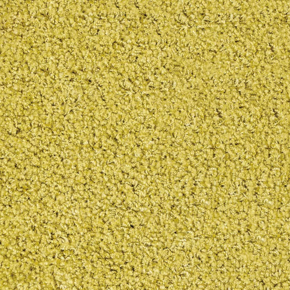 日本製ナイロン100%洗えるツイストシャギーラグ [素材アップ]リーフ