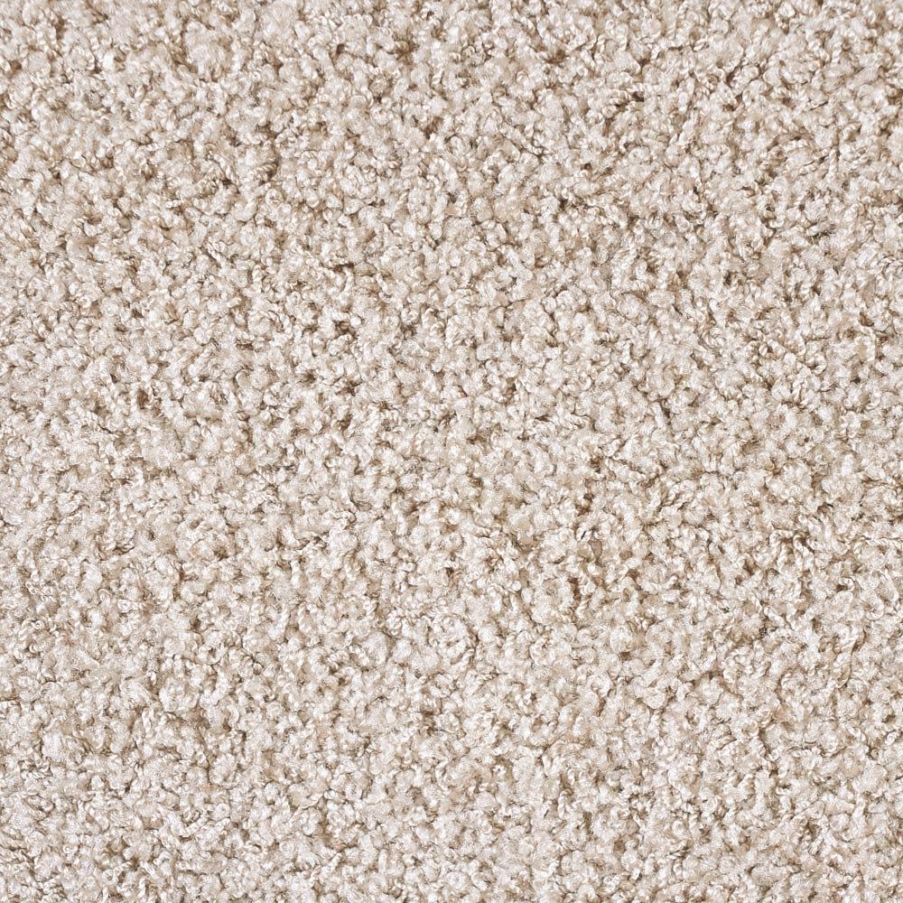 ナイロン洗えるツイストシャギーカーペット 3~12畳タイプ(イージーオーダー) [素材アップ]グレージュ