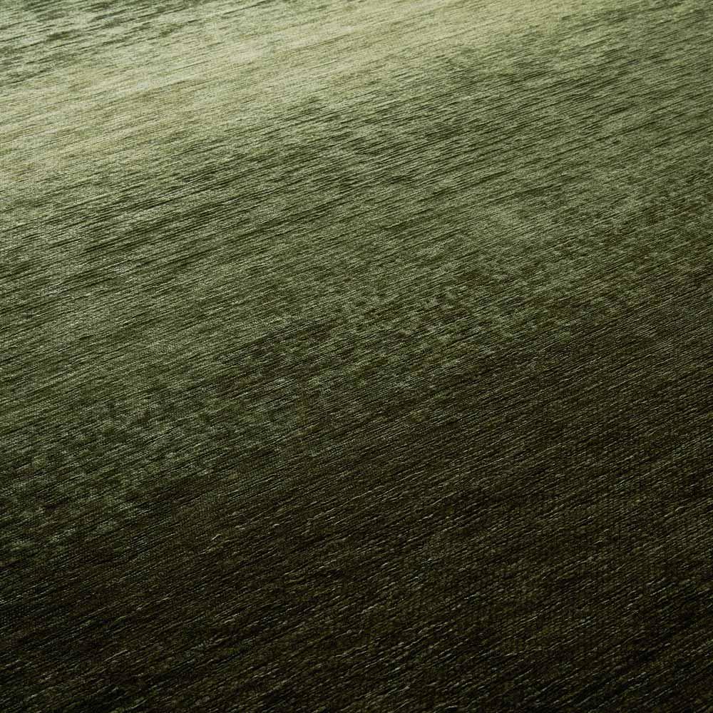 Gradation/グラデーション ベルギー製シェニール織ラグ [生地アップ] グリーン