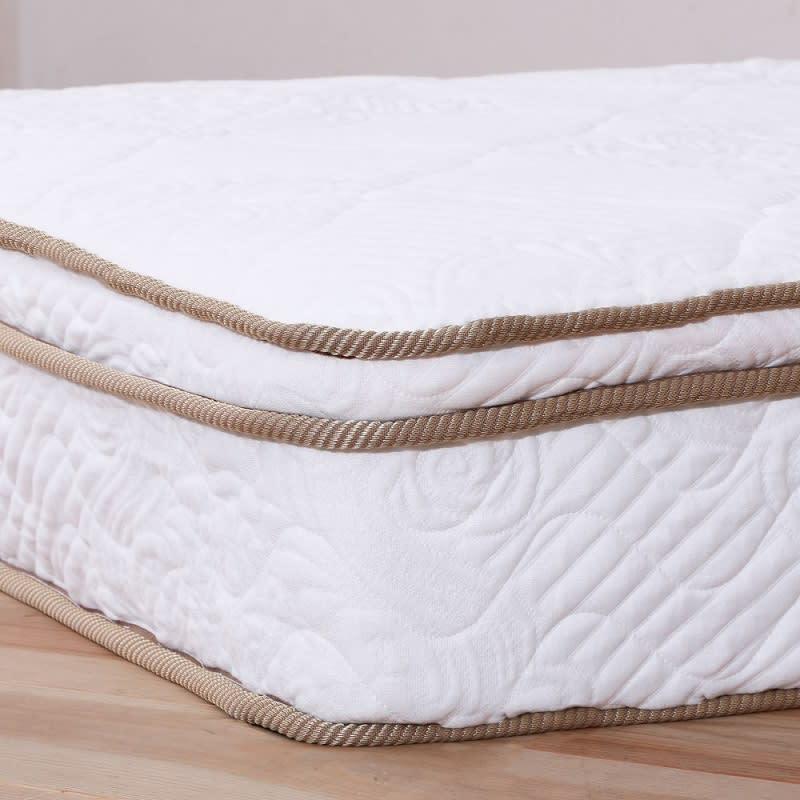 国産ユーロトップポケットコイル ホワイトオーク MARK/マーク 木製ベッド 体をしっかり支えながらやさしく包み込むウレタン(ユーロトップ)