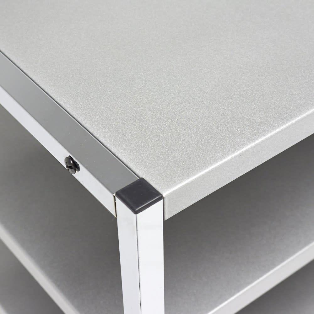 Varie(バリエ) クローゼットシリーズ オープンラック 天板も収納スペースとしてお使いいただけます。