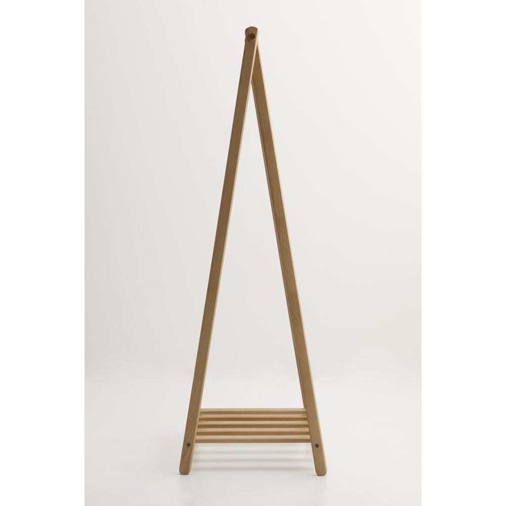 Incery(インサリー) 天然木製ハンガーラック 幅80cm ナチュラル