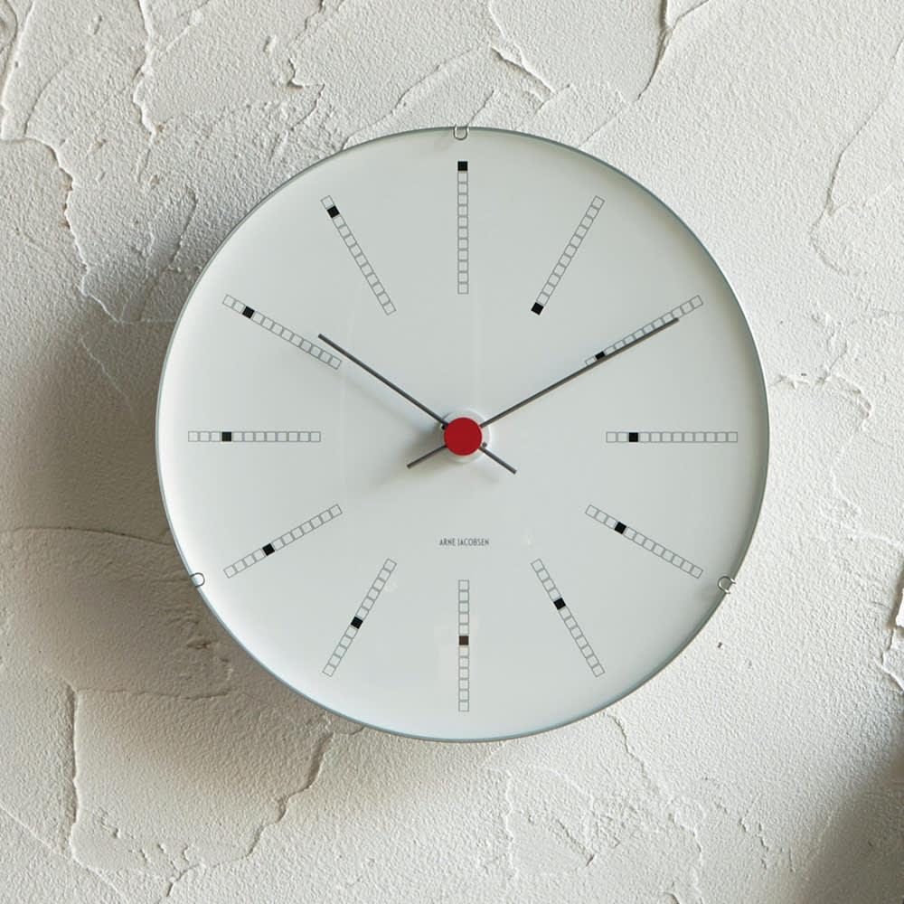 ARNE JACOBSEN/アルネヤコブセン 壁掛け時計 バンカーズ 径21cm H74407