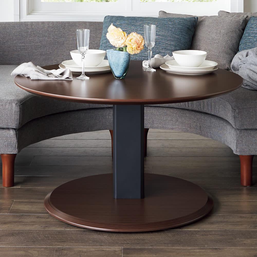 TETTO/テット 昇降式テーブル 丸テーブル H76391